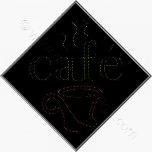 Μεγάλη επιγραφή led για καφετέριες ή κυλικεία.