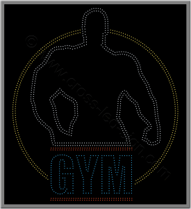 Επιγραφές καταστημάτων led γυμναστήριο 5w.