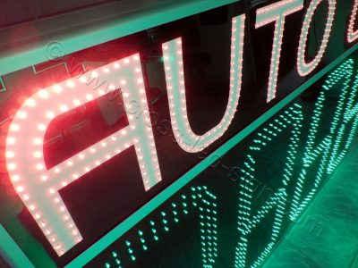 Πινακίδες led πρατηρίων autogas πολύ φωτεινά λαμπάκια led.