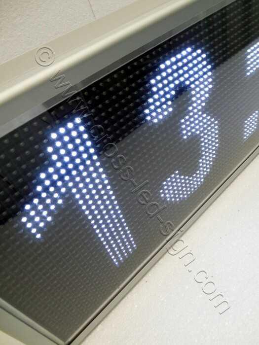 Ηλεκτρονικές επιγραφές led - 167x39-12.