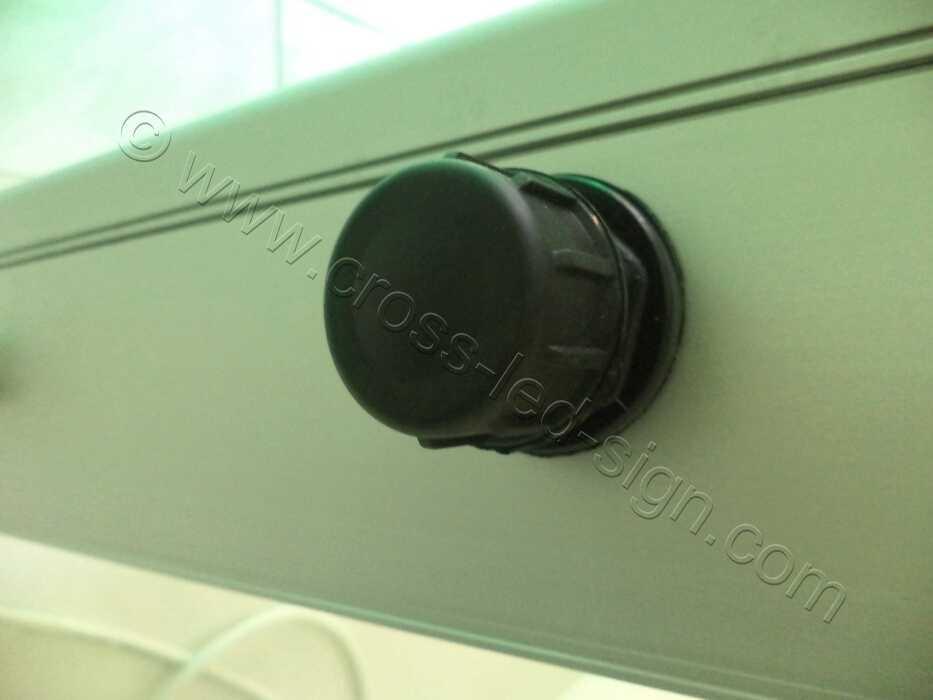 Ηλεκτρονικές πινακίδες led, εδιάβροχη θύρα USB.