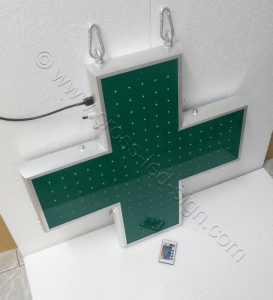 Ηλεκτρονικός σταυρός φαρμακείου 70 εκ. σβηστός.