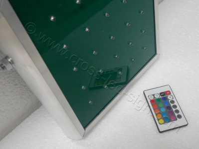 Ηλεκτρονικός σταυρός φαρμακείου 70 εκ. οθόνη από ισχυρό plexi glass.