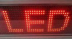 LED module κόκκινο 32 x 16 pixels.