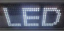 LED module λευκό 32 x 16 pixels.