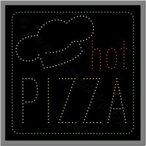Πινακίδες καταστημάτων led pizza 4w.