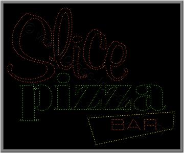 Πινακίδες καταστημάτων led pizza 5w.