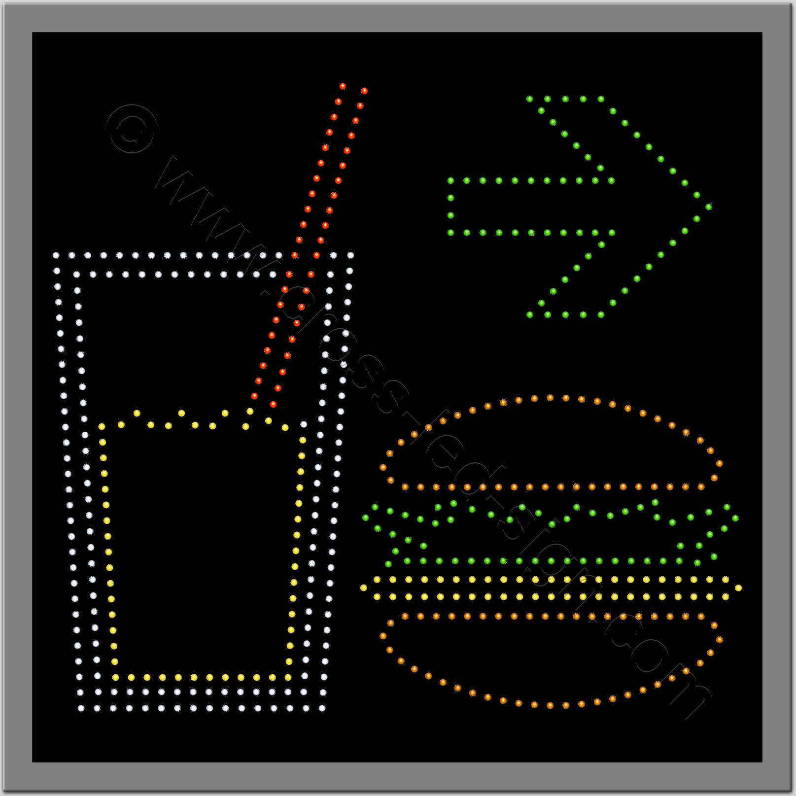 Πινακίδες led για βενζινάδικα 9w.