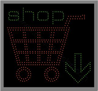 Πινακίδες ταμπέλες επιγραφές led 5w.