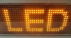LED module πορτοκαλί 32 x 16 pixels.