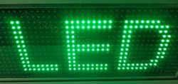 LED module πράσινο 32 x 16 pixels.