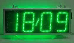 Ρολόγια led 69 x 27, πολύ φωτεινή ένδειξη ημερομηνίας.