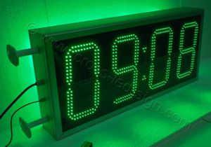 Ρολόι μεγάλο 100x45 εκατοστών με ένδειξη ώρας, διπλή σειρά led.