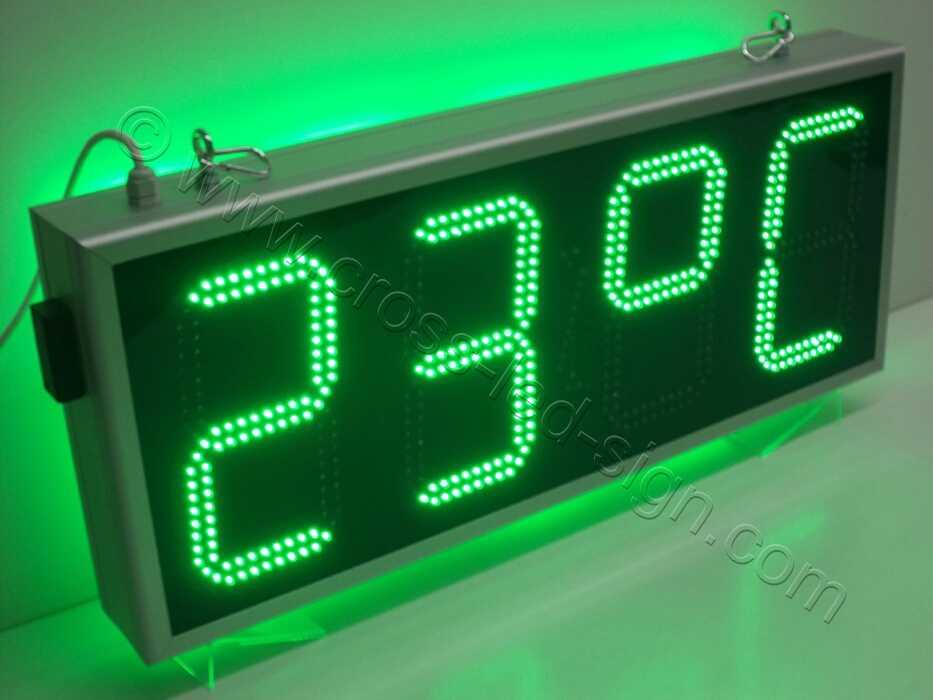 Ρολόι led μεγάλο 85Χ38 εκατοστά, ένδειξη ημερομηνίας.