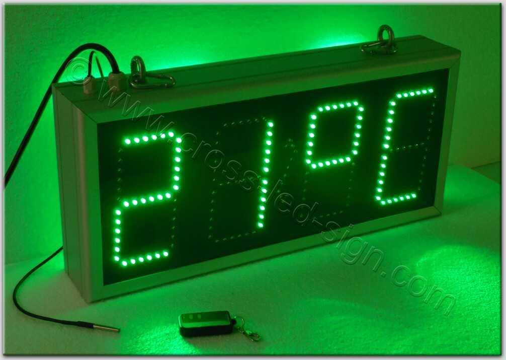 Ρολόι led - 59x27-03.