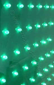 Διάταξη με αναμμένα LED σταυρού φαρμακείου 100 εκατοστών.