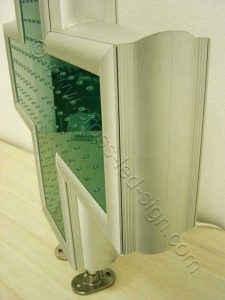 Ισχυρός σκελετός σταυρού LED model: LC70C.