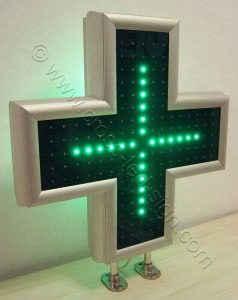 Εσωτερική σειρά LED σταυρού φαρμακείου 70 εκατοστών.