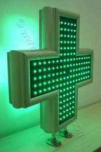 Ηλεκτρονικός σταυρός φαρμακείου LED 70 εκατοστών.