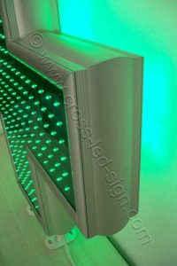 Ισχυρός σκελετός σταυρού φαρμακείου LED 90 εκατοστών.