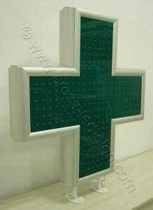 Σβηστά led σταυρού φαρμακείου 90 εκατοστών.