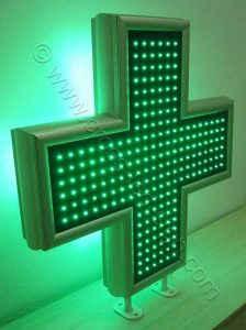 Σταυρός φαρμακείου LED 90 εκατοστών.