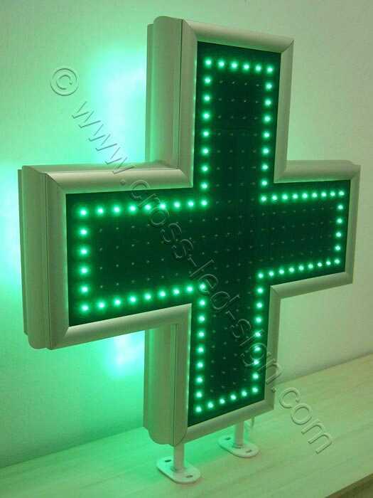 Εξωτερική σειρά led σταυρού φαρμακείου 90 εκατοστών.