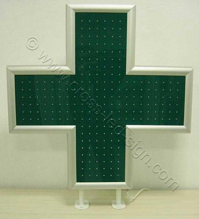 Σταυρός φαρμακείου LED 90 εκατοστών με σβηστά LED.