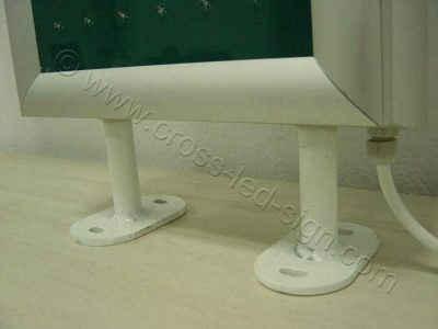Ισχυρή βάση ανάρτησης σταυρού φαρμακείου LED 90 εκατοστών.