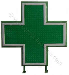 Σταυροί φαρμακείου led, μεγάλων διαστάσεων κατά παραγγελία με χαμηλές τιμές.