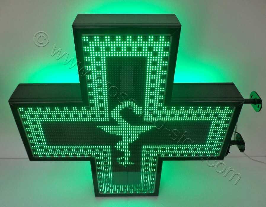 Σταυρός φαρμακείου 3d Matrix 103X103 εκ. με ένδειξη, ΚΑΛΙΔΟΣΚΟΠΙΟ ΦΙΔΙ ΓΟΥΔΙ ΜΙΚΡΟ.