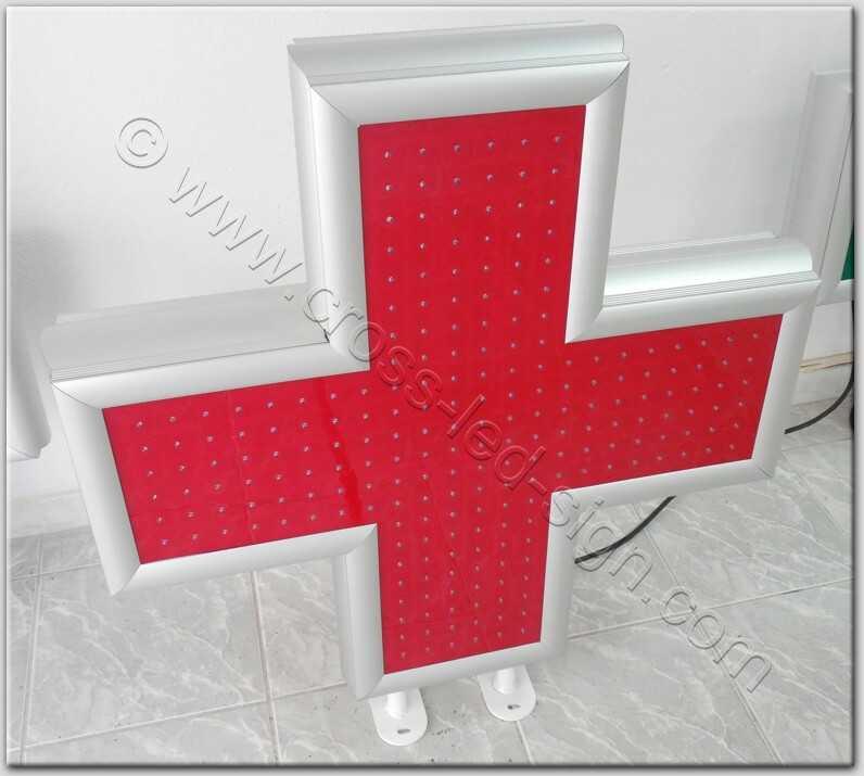 Σταυρός ιατρείου led 80-01.