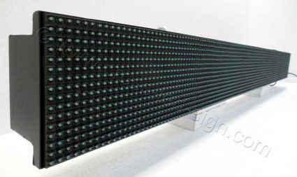 Ταμπέλα επιγραφή led 160x16 εκατοστών με σβηστά led. Άριστη ποιότητα κατασκευής.