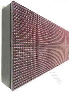 Ταμπέλα ηλεκτρονική επιγραφή led 32 εκατοστών ύψος.