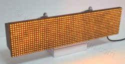 Ταμπέλες led για μαγαζιά σε διάσταση 64 x 16 εκατοστά με ένδειξη όλα τα led αναμμένα.