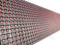 Όλες οι ταμπέλες led 96x16 εκατοστών, έχουν διάταξη led ανά 10 χιλιοστά, από κέντρο σε κέντρο led.
