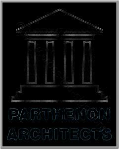 Επιγραφές γραφείων led parthenon architects.