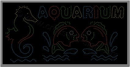 Ταμπέλες καταστημάτων led aquarioum 1w.