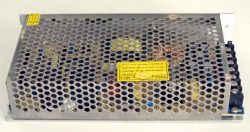 Τροφοδοτικό led 24V 6,5A 150W, πλαϊνή πλευρά.